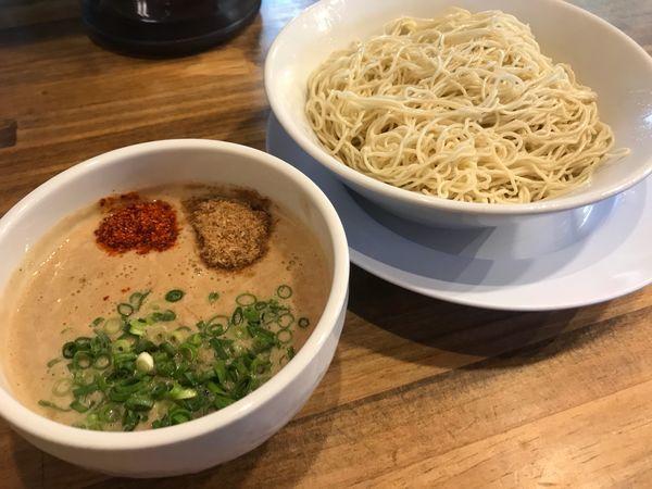 「博多濃厚つけ麺 2玉 930円」@博多ラーメン まっしぐらの写真