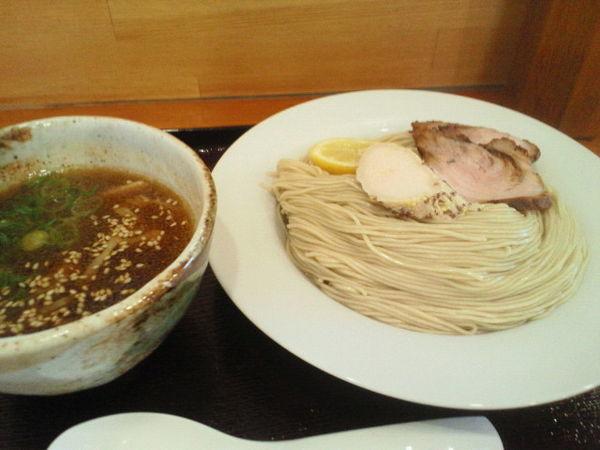 「つけ麺(大盛)880円」@らぁ麺屋 晴天の写真