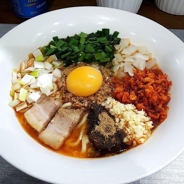 「【本日の限定】台湾ら~めん」@麺丼Dining 夢者の写真
