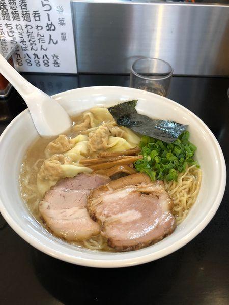 「雲呑麺」@らーめん 茂木の写真