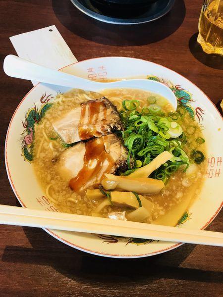 「とんこつ醤油ラーメン」@麺屋 七福神 堀川御池店の写真