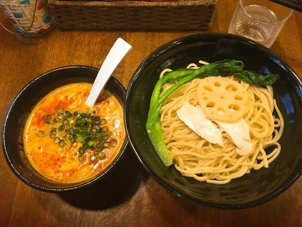 「旨辛つけ麺+日替ミニ丼/¥850+200」@鶏ラーメン TOKUの写真