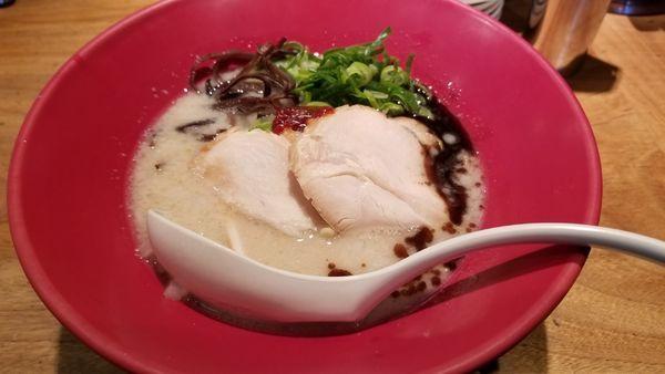 「赤丸新味 鶏チャーシュー」@博多一風堂 松本店の写真