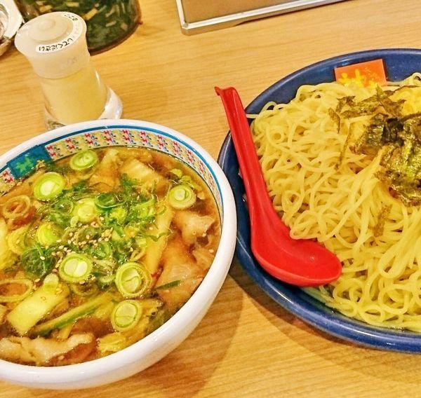 「つけ麺(温麺)2.5玉」@どうとんぼり神座 新宿店の写真