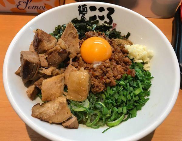 「台湾まぜそば」@麺屋こころ 柏店の写真