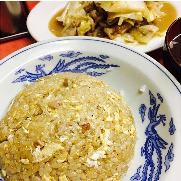 「肉味噌炒めと炒飯」@豊龍の写真