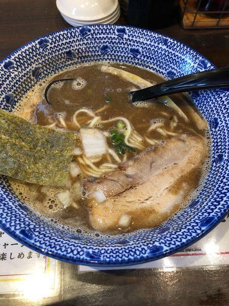「煮干ラーメン」@らーめん えん者 籠原店の写真