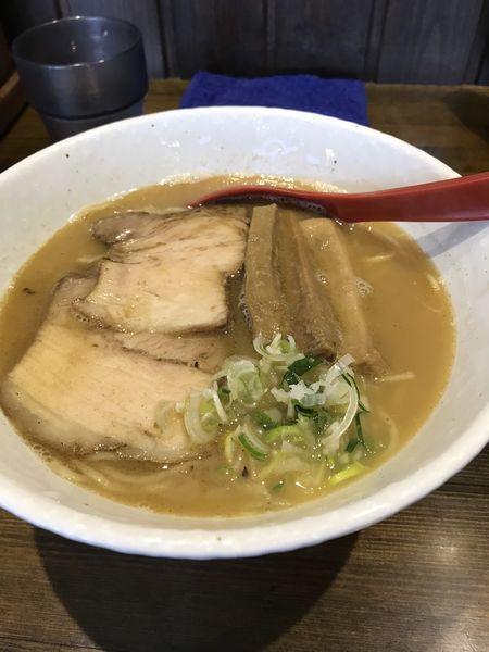 「鶏鰹そば」@拉麺太极の写真