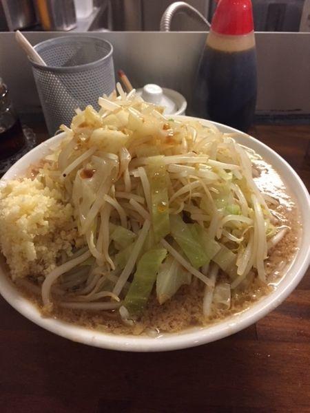 「ラーメン ポン酢 800円(ニンニクたっぷり)」@ラーメン凛 砂町店の写真