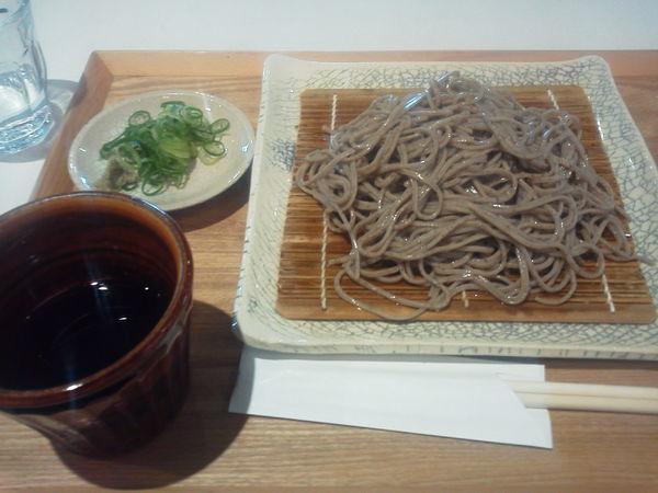 「もりそば 700円」@石臼挽き蕎麦 あずみ野の写真