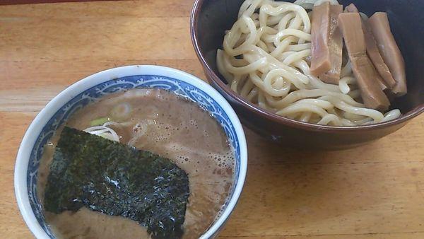 「つけ麺少な目」@中華そば つけ麺 村岡屋の写真