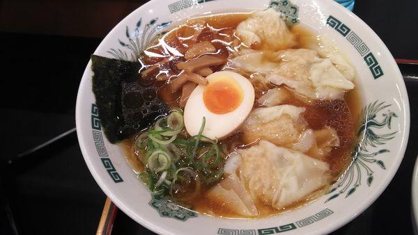 「ワンタン麺」@日高屋 エルミ鴻巣店の写真