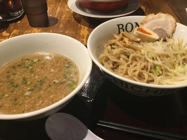 「豚骨醤油つけ麺780円」@麺屋 BONCHIの写真