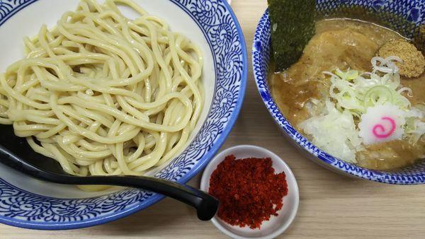 「辛つけ麺」@狼煙 大宮店の写真