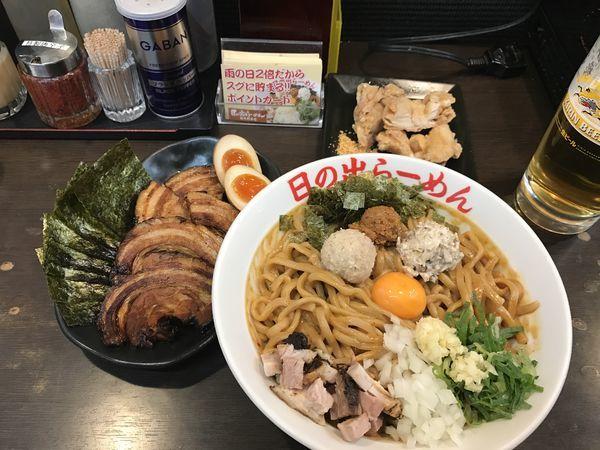 「ガッツ麺DX」@日の出らーめん 横浜桜木町本店の写真