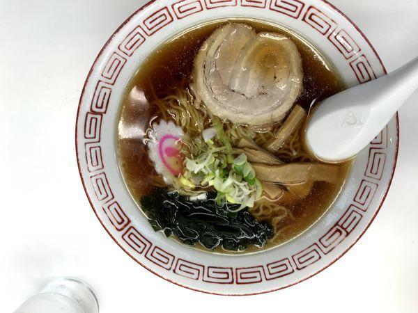「醤油らーめん 麺かため」@東武ラーメンの写真