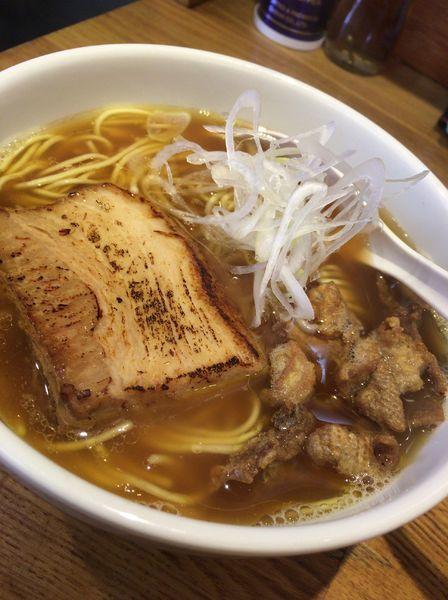 「鶏煮干し中華そば  730円」@煮干し中華そば三四郎の写真