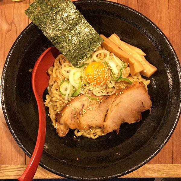 「札幌まぜそば 味噌にぼ」@in EZO 本店の写真