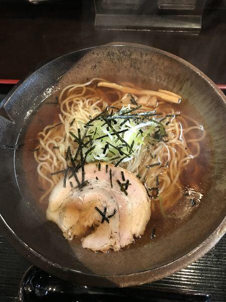 「さっぱりらーめん醤油(¥500)」@和風らーめん匠 深谷駅前の写真