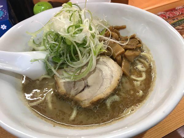 「燻製煮干ラーメン 800円」@麺家うえのの写真