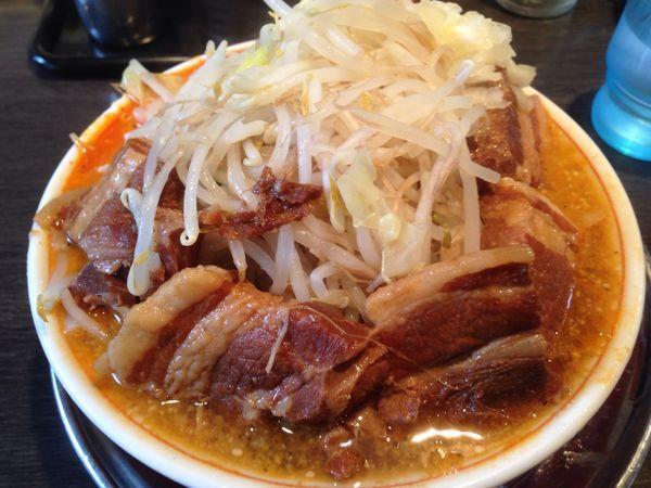 「角煮小担々麺」@麺屋 婆娑羅の写真
