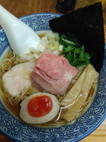 「煮干そば白醤油」@中華そば よしかわの写真