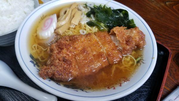 「カツラーメン」@さくら食堂の写真