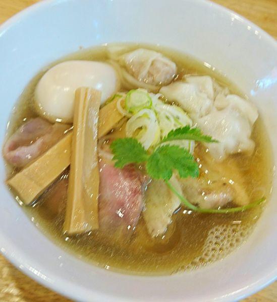 「特製中華そば」@寿製麺よしかわ 坂戸店の写真