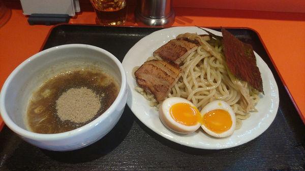 「『つけめん 中+お宝(¥840+360)』」@麺家 宝の写真