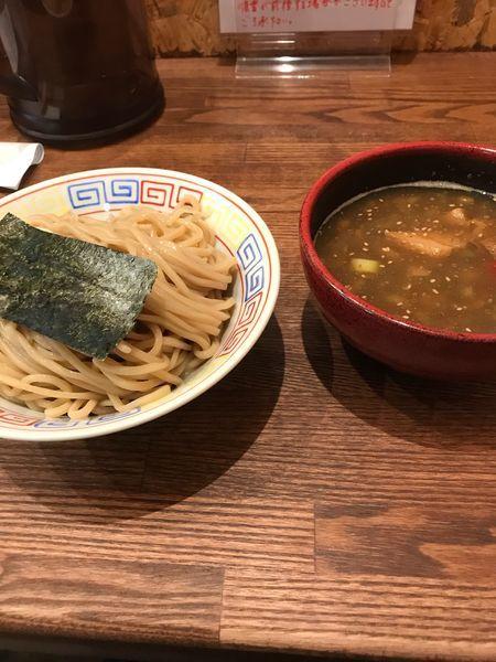 「煮干しつけ麺並盛」@SAITOU拉麺店の写真