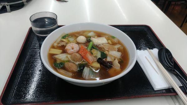「広東麺 麺硬め 710円」@福泰厨房 幸手店の写真