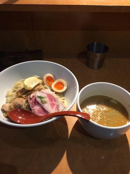 「鶏白湯 特製つけ麺」@麺屋 翔 本店の写真