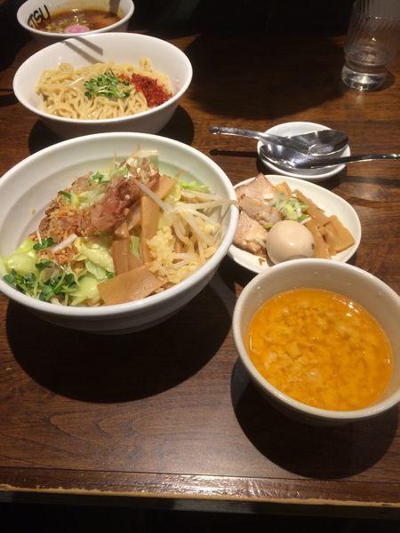 「特製まぜそば」@つけめん TETSU 武蔵小杉店の写真