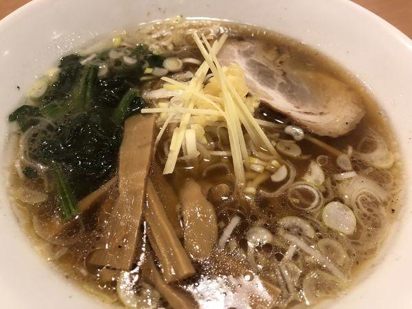 「生姜醤油ラーメン」@らーめんともや 前橋本店の写真