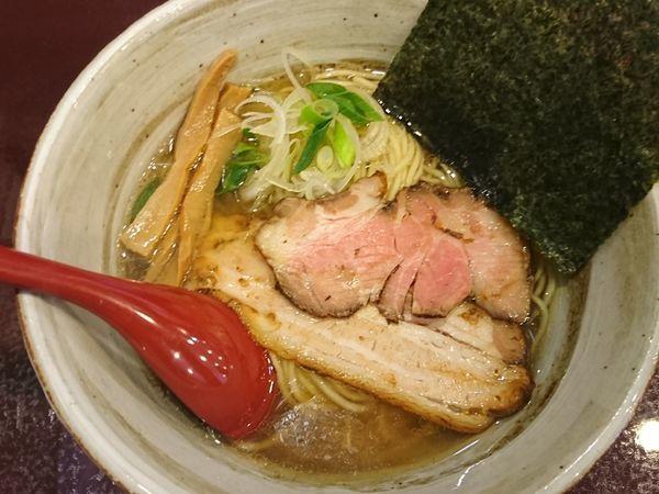 「塩煮干しそば ¥780」@麺屋 照の坊の写真