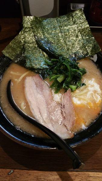 「とき卵塩ラーメン」@ラーメン 大山家 昭島店の写真