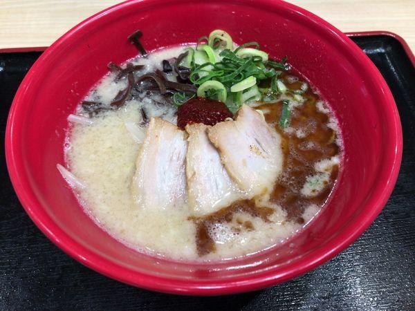 「赤丸とんこつ 830円(外税)」@IPPUDO NOODLE EXPRESSの写真