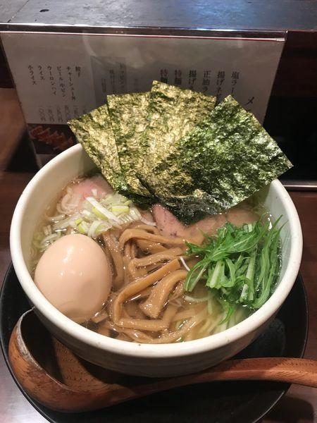 「特麺たつ塩」@ラーメン 麺たつの写真