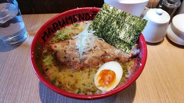 「拉麺  780円」@○麺堂の写真