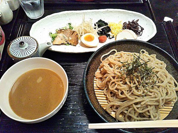 「出雲そば入りラーメン 980円」@出雲の國 麺家 大社店の写真
