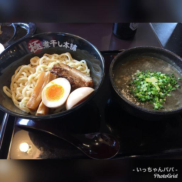 「極濃煮干しつけ麺 870円 味玉 110円」@極煮干し本舗 東松山店の写真