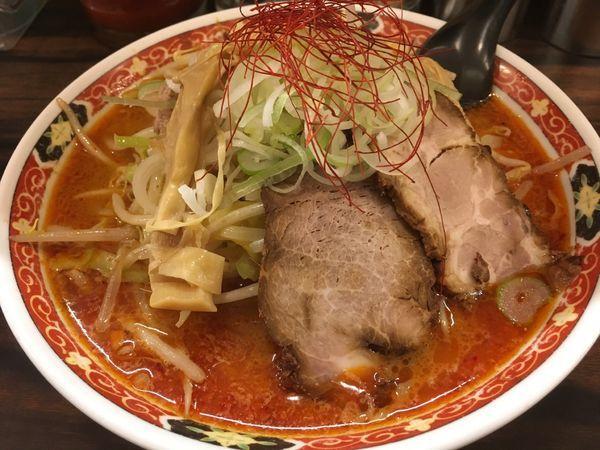 「味噌オロチョンラーメン」@札幌 味噌や 元住吉店の写真