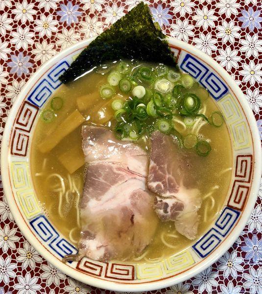 「大蒜白湯そば (730円)」@麺 虎右ヱ門の写真