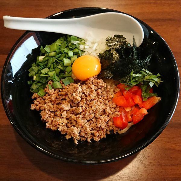 「NOFUJIのまぜそば @780円 限定」@らーめん つけ麺 NOFUJIの写真