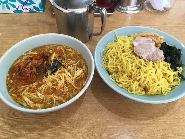 「ネギからしつけ麺」@ラーメン屋 麺一 仲町台店の写真