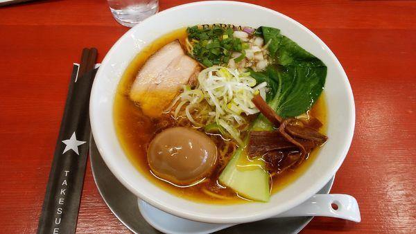 「味玉鶏中華」@BARRACK D.M竹末の写真
