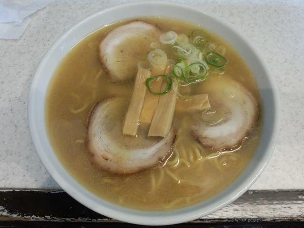 「竹(麺1.5倍)800円」@らうめん専門店 めんきちの写真