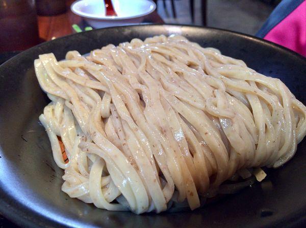 「柚子醤油つけ麺」@麺屋 甚八の写真