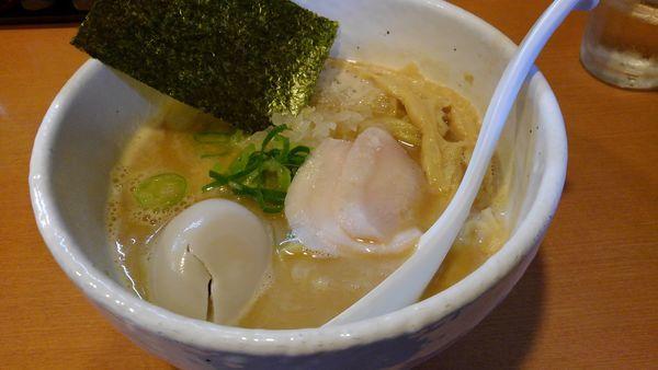 「味玉鶏SOBA醤油 850円」@らーめん 銀杏 亀有店の写真