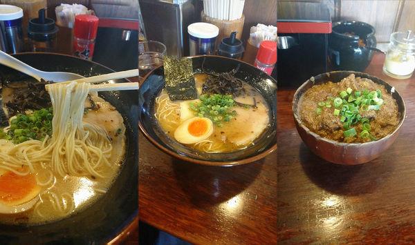 「『熊本ラーメン+どてめし(¥700+300)』」@麺屋 双喜の写真